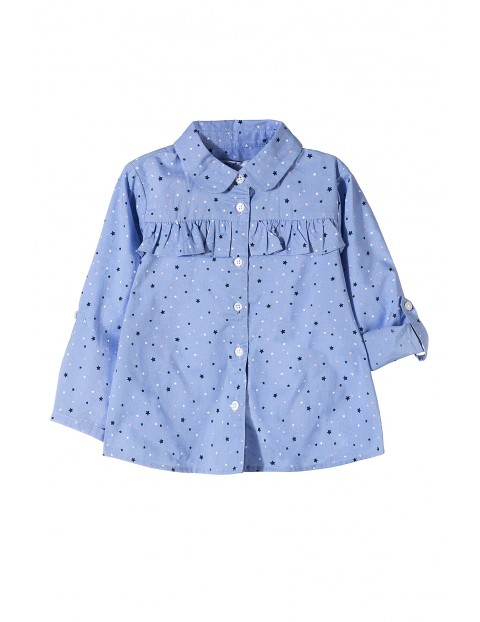 Koszula rozpinana dla dziewczynki 3J3503
