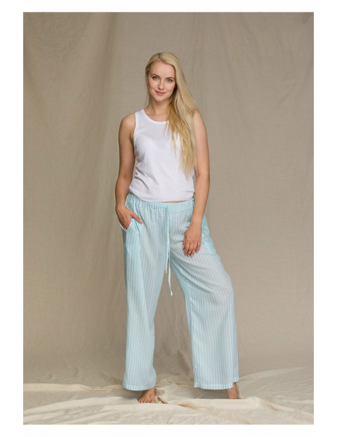 Letnia lekka piżama damska