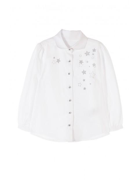 Koszula dziewczęca biała 3J3504