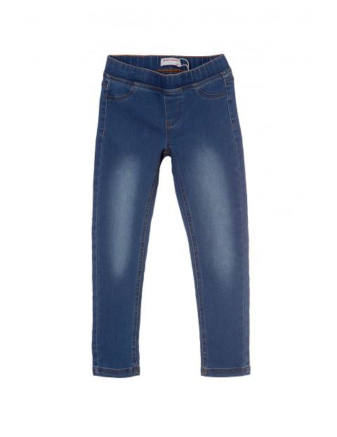 Spodnie dziewczęce jeansowe 4L3402