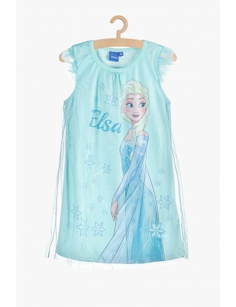 Koszula nocna dla dziewczynki niebieska Frozen II