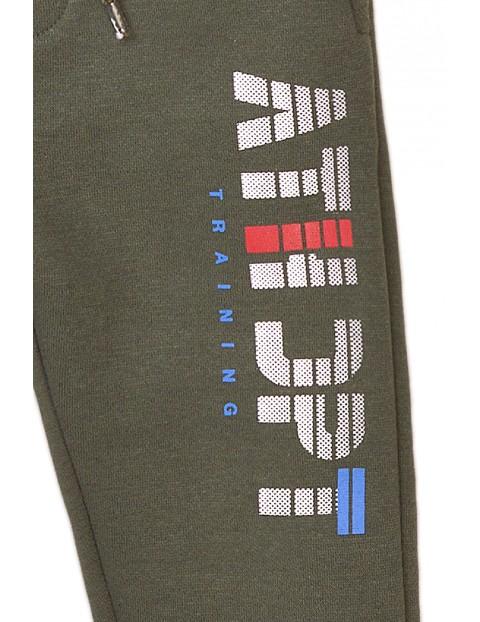 Spodnie dresowe chłopięce khaki