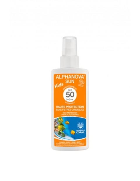Spray Przeciwsłoneczny dla dzieci SPF50 - 125 ml