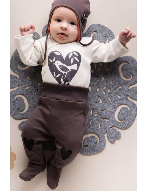 Półśpiochy niemowlęce Little Bird - brązowe
