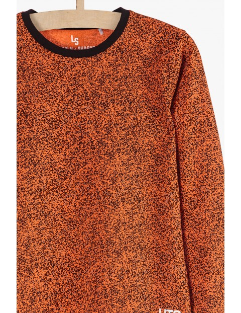 Bluzka dla chłopca- bawełniana z długim rękawem