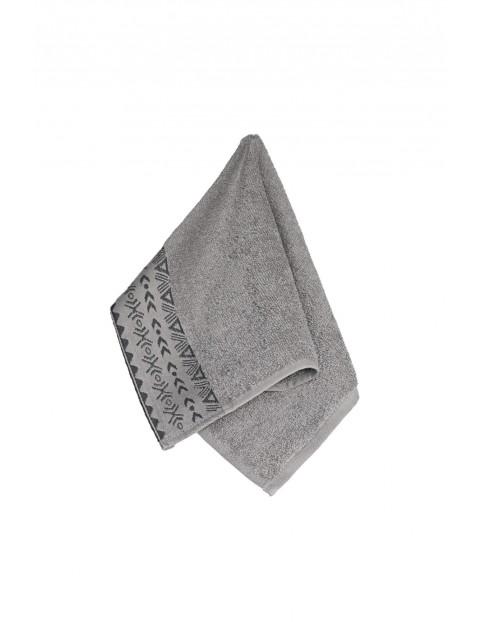 Ręcznik bawełniany DRIADA szary 30X50cm 2-pak