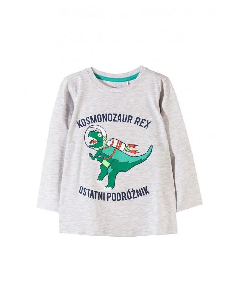 Bluzka chłopięca z dinozaurem