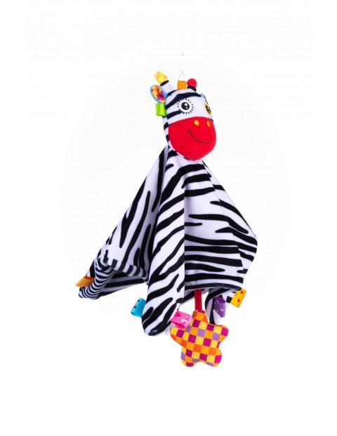 Przytulanka niemowlęca Zebra- 0msc+