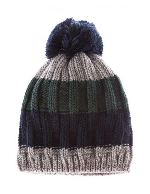 Czapka chłopięca zimowa 1X3522