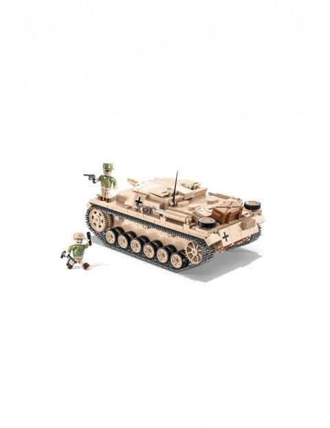 Klocki COBI Sturmgeschütz III Ausf. D - niemieckie działo pancerne 532el