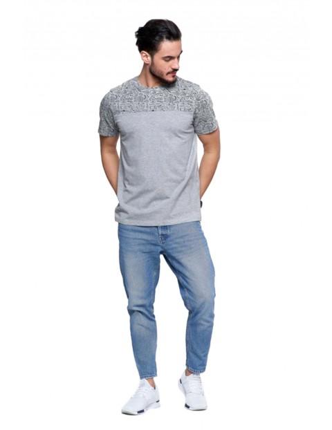 T-shirt bawełniany męski