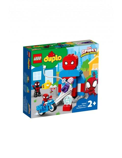 LEGO DUPLO Super Heroes - Kwatera główna Spider-Mana 10940 -36 elementów, wiek 2+
