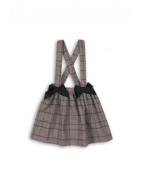 Spódnica dziewczęca na szelkach 3Q35A7