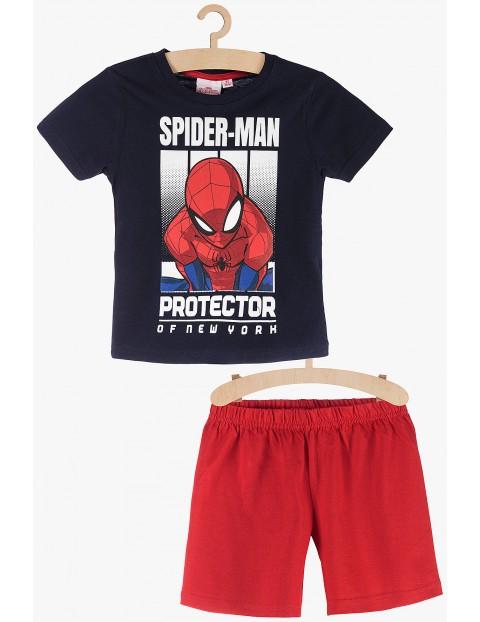 Pidżama chłopięca Spiderman granatowo-czerwone rozm 140