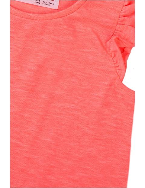 Bluzka dziewczęca w kolorze różowym