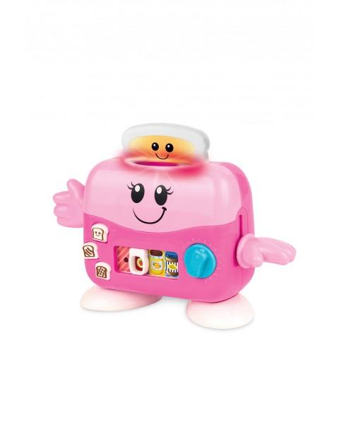 Zabawka sensoryczna - Wesoły toster wiek 12msc+