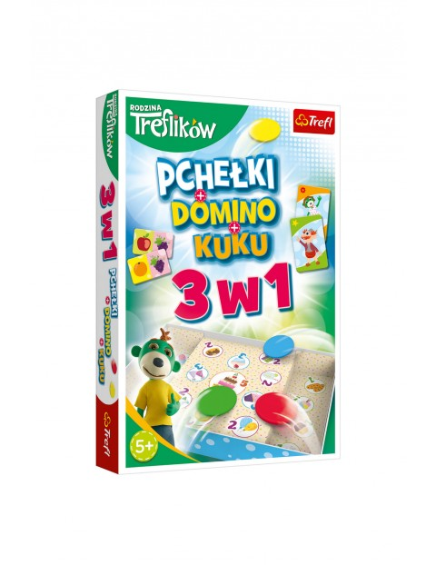 Pchełki - Domino - Kuku 3w1 Rodzina Treflików