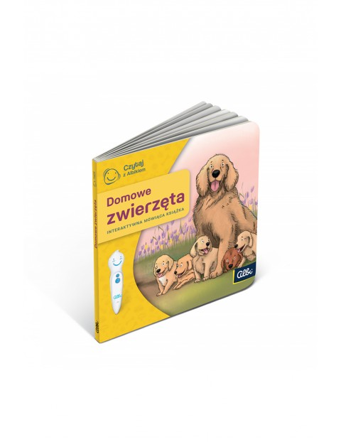 Czytaj z Albikiem - Domowe zwierzęta - Interaktywna mówiąca książka