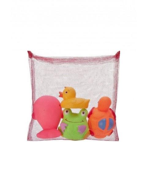 Zabawki do kąpieli z siateczką – 4szt