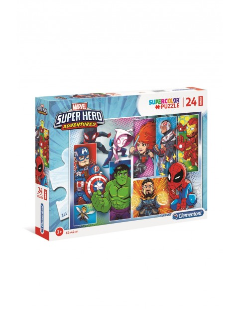 Puzzle  Maxi Superhero - 24 el wiek 3+
