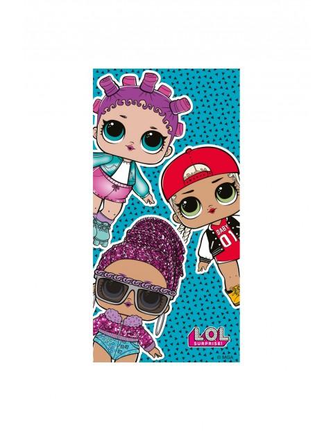 Ręcznik dziewczęcy LOL Surprise 70x140cm