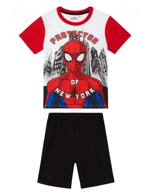 Piżama chłopięca ze Spidermanem- dwuczęściowa rozm 140