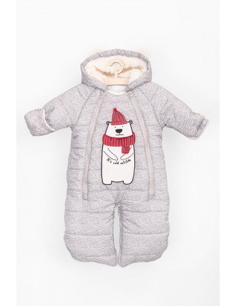 Kombinezon niemowlęcy zimowy