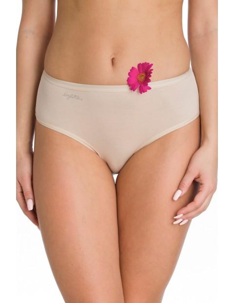 Klasyczne figi bikini - beżowe