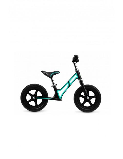 MoMi MOOV superlekki magnezowy rowerek biegowy turkusowy