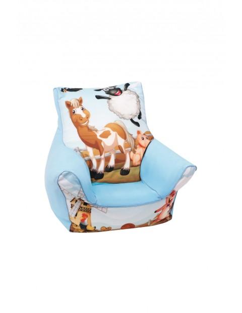 Fotelik dla dziecka- zwierzaki