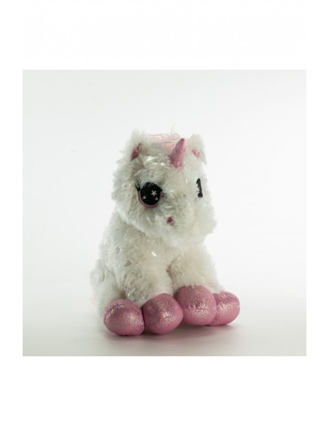 Pluszak GIOplush Unicorn Blanc 35 cm