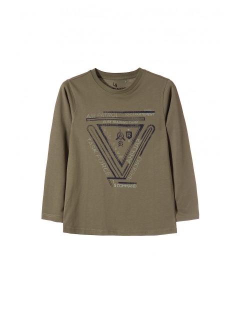 Dzianinowa bluzka chłopięca 2H3407