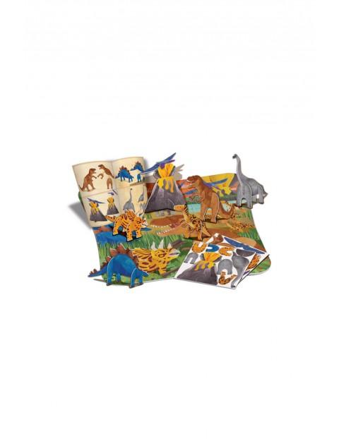 Puzzle 3D- Dinozaury