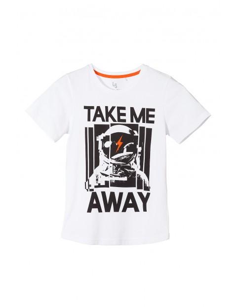 T-shirt chłopięcy 100% bawełna 2I3518