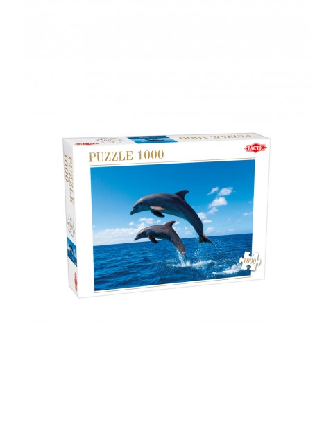 Puzzle Two Dolphins Jumping1000el.4Y33BC