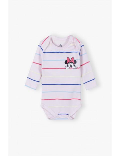 Bawełniane body niemowlęce Mickey