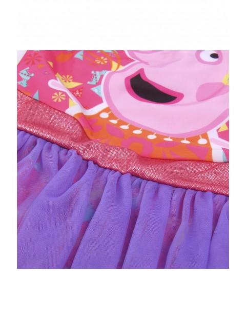 Kostium kąpielowy dziewczęcy jednoczęściowy Świnka Peppa