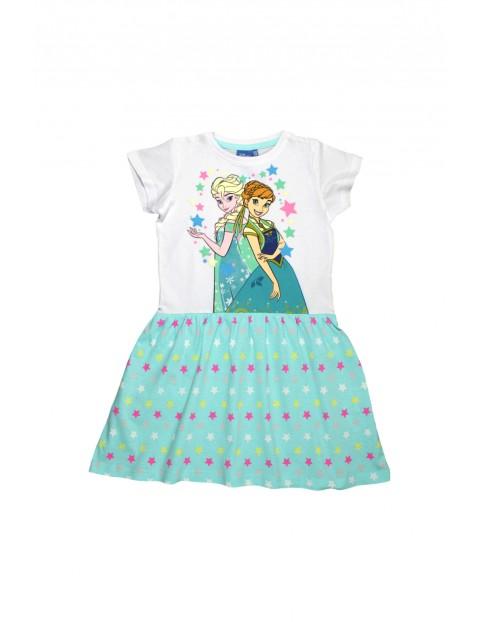 Sukienka dziewczęca Kraina Lodu 3K34CX