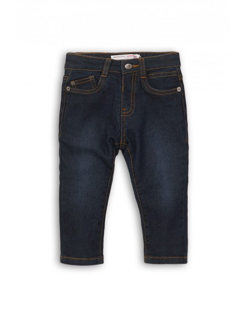 Spodnie chłopięce jeansowe 2L35AZ