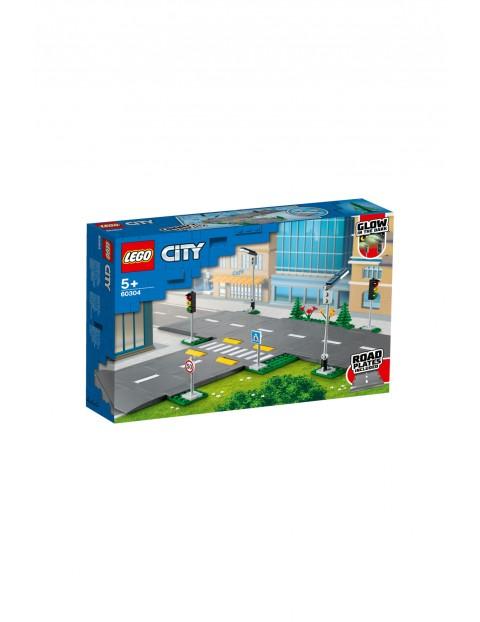 LEGO City 60304 - Płyty drogowe - 112 el