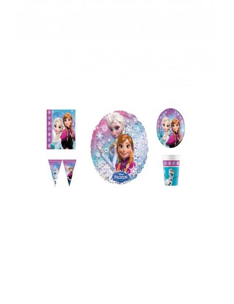 Zestaw urodzinowy  Frozen  - 38 elementów