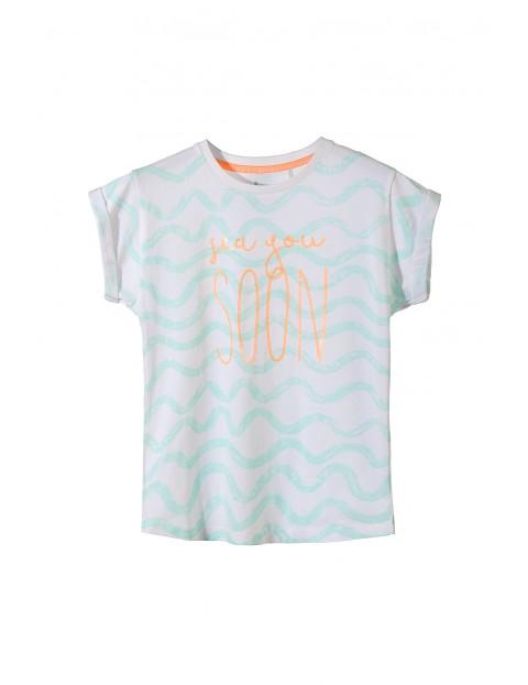 T-shirt dziewczęcy 4I3222