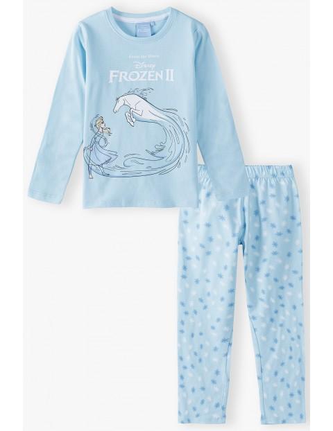 Piżama dziewczęca bawełniana FROZEN
