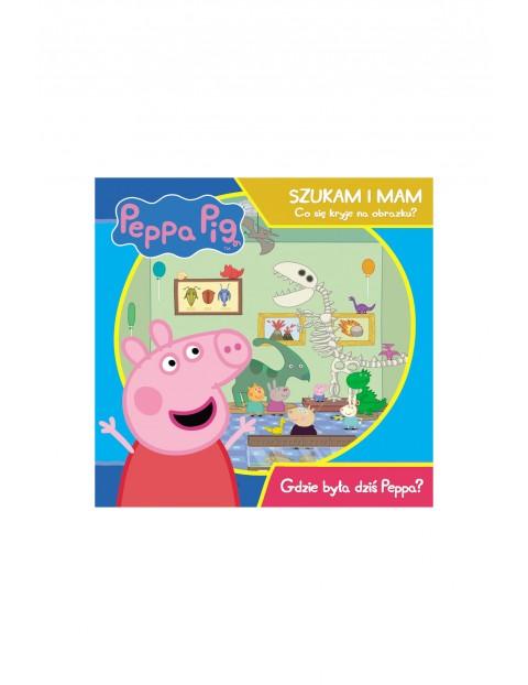 Książka dziecięca - Świnka Peppa. Szukam i mam. Gdzie była dziś Peppa?