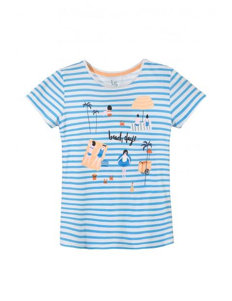 T-shirt dziewczęcy 4I3228