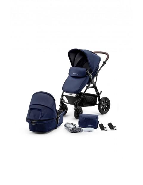 Kinderkraft Wózek wielofunkcyjny 2w1 MOOV-granatowy