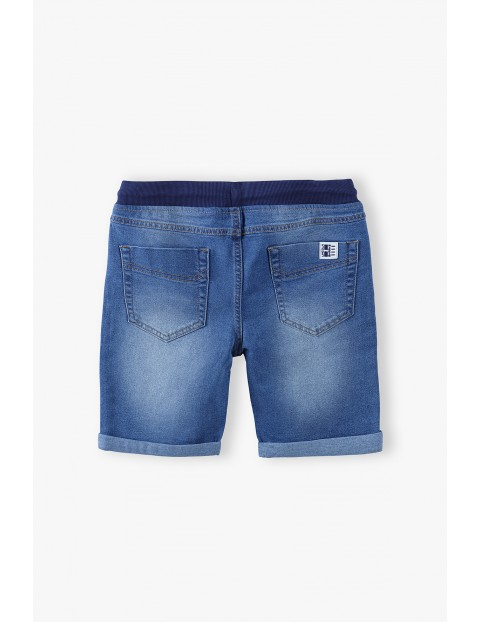 Szorty chłopięce jeansowe- niebieskie