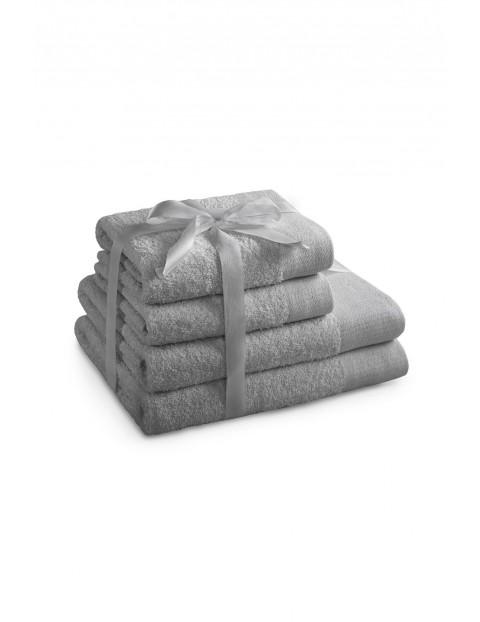 Zestaw ręczników AMARI szary 4 sztuki - 70x140+2*50x100