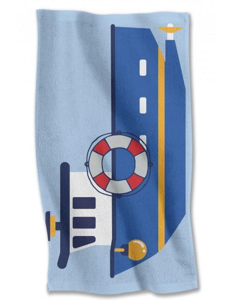 Ręcznik kąpielowy  Łódka 40x70 cm