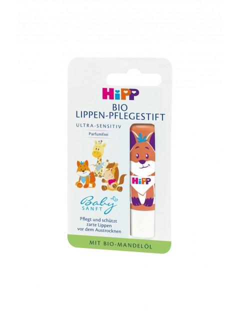 HiPP BIO Babysanft Ultra - Sensitive Pielęgnacyjna pomadka do ust 4,8 g